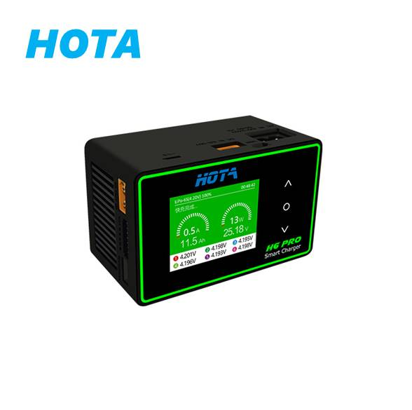 HOTA H6 Pro AC200W / DC700W 26A Smart Balanced High Power RC Charger