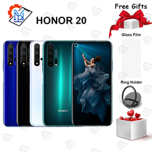 Original HONOR 20 Mobile Phone 6.26 inch Kirin 980 Octa Core