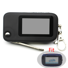 B92 B94 Key Case For Two Way Car Alarm System LCD Remote Controller Keychain Starline B92 B64 B62 B94 Key Fob Chain