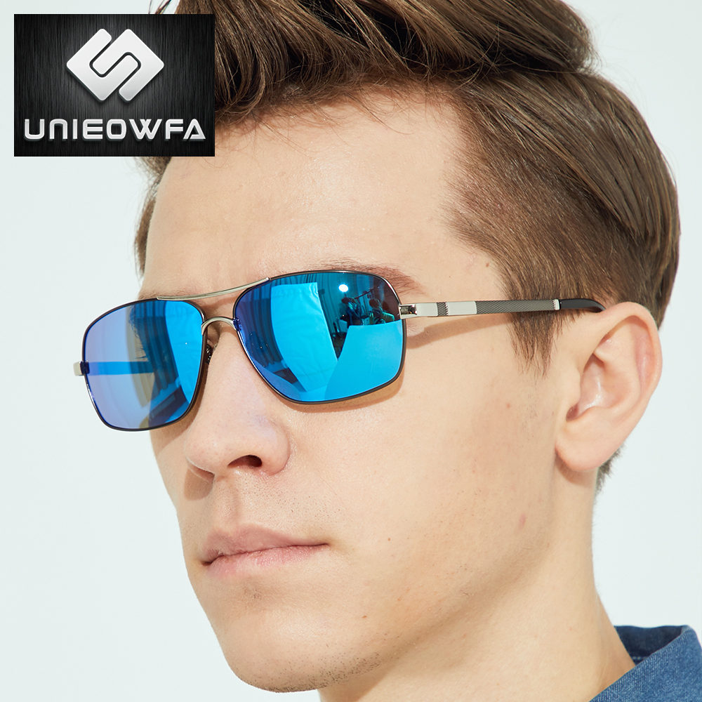 Prescription Photochromic Sunglasses Men Polarized Optical Myopia Sun Glasses For Men Square Alloy Eyewear Male UV400 Driving