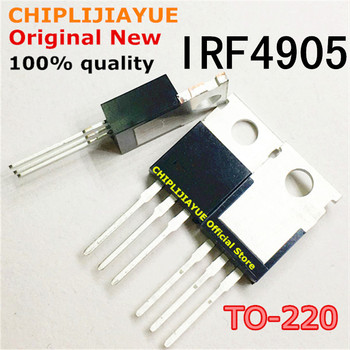 10PCS IRF4905 TO220 IRF4905PBF TO-220 New and Original IC Chipset - discount item  10% OFF Active Components