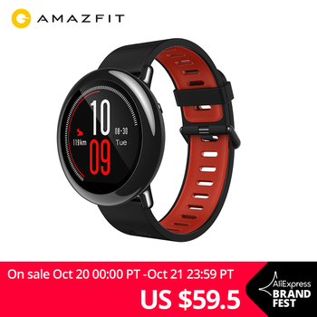 NEW Amazfit Pace Smartwatch Amazfit Smart Watch Bluetooth Music GPS Information Push Heart Rate For Android phone redmi 7 IOS
