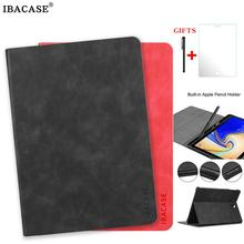 Case for Samsung Galaxy Tab S4 2018 10.5T830 T835 Tablet fashion color cover PU leather case luxury imitate Genuine Leather