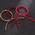 Новое поступление, модные ювелирные изделия, милый счастливый буддийский веревочный браслет ручной работы, тибетский бесконечный шарм, бра...