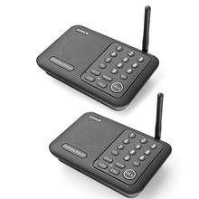 Беспроводная система связи с домофоном, система связи для дома, бизнеса, офиса, диапазон 1 мили, 10 каналов, 2 шт.