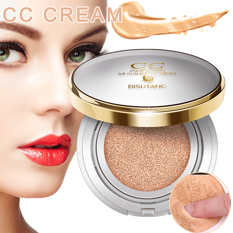 High Quality Sunscreen Air Cushion CC Cream Moisturizing Whitening Face Beauty Makeup Tool image