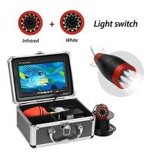 كاشف السمك تحت الماء كاميرا 7 1000TVL كاميرا صيد مقاومة للماء مع وضع مزدوج Led ضوء مع الأشعة تحت الحمراء/الأشعة تحت الحمراء للصيد