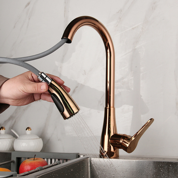 Delta Varos Pulldown Kitchen Faucet Brass Kitchen Faucet