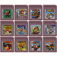 16 Bit Video Game Cartridge Console Card for Nintendo GBC Super Mariold Series English Language Edition