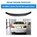 Задний спойлер багажника для BMW F22 M240i M235i F87 M2 2014 - 2019 задний спойлер из углеродного волокна