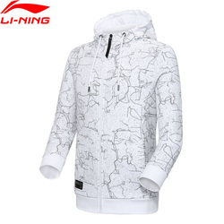 Li-Ning Männer Der Trend Hoodie Regelmäßige Fit 88% Baumwolle 12% Polyester Futter li ning Komfort Sport Pullover Tops AWDP049 MWW1578