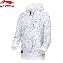 Sudadera con capucha li-ning para hombre, estilo deportivo con forro 88% de algodón y 12% de poliéster Li Ning Comfort AWDP049 MWW1578