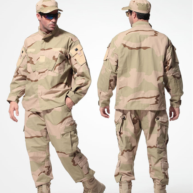 MULTICAM Uniform ACU Camouflage Clothing Suits For Hunting Paintball Military Army Training Jacket Pants