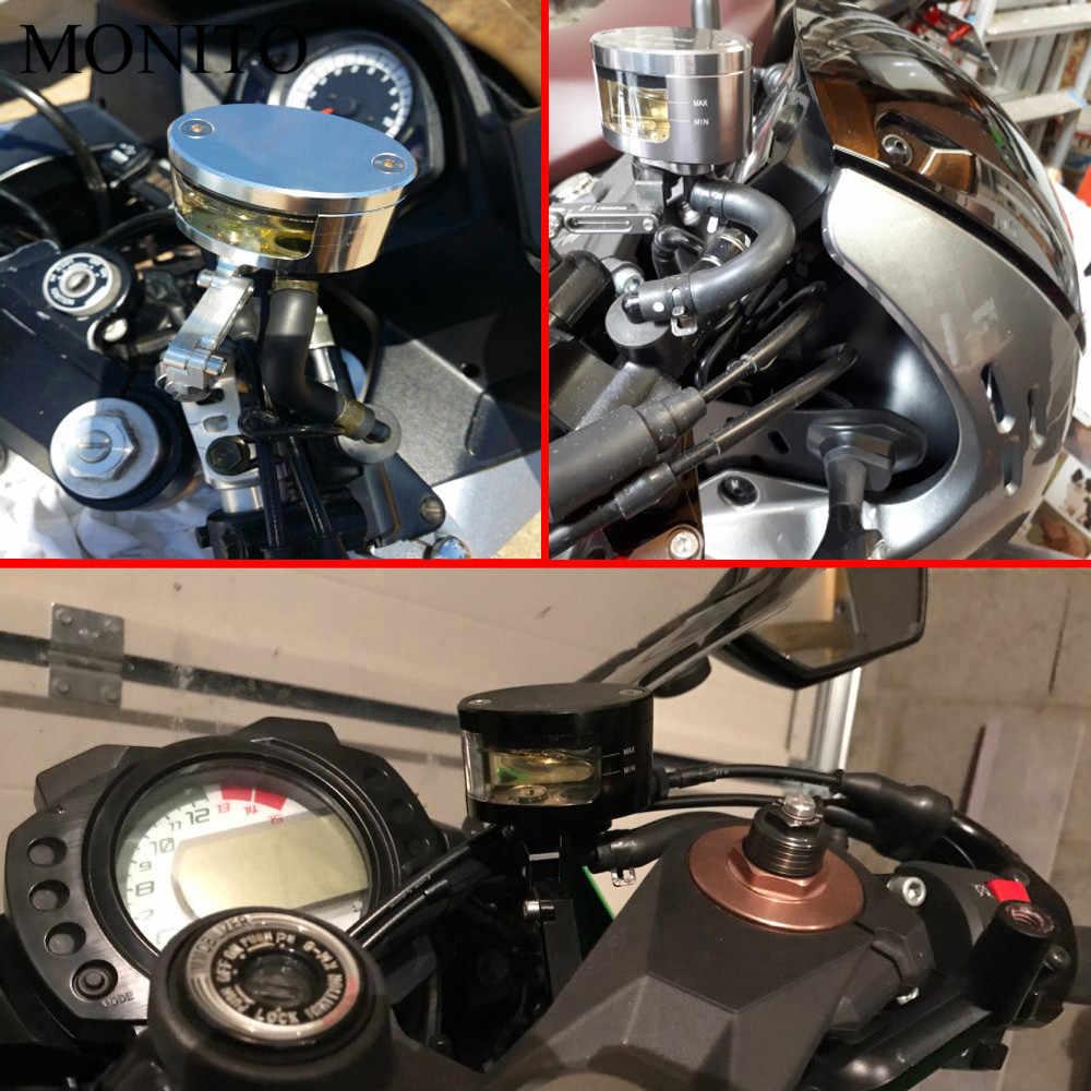 Untuk BMW R1200GS R1200 Gs/RT/SE/S/ST Petualangan S1000RR Sepeda Motor Kopling Hidrolik Silinder Rem reservoir Cangkir Minyak dan Bracket