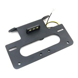 Image 3 - Para suzuki gsxr 600 750 GSX R600 k6 k8, GSX R750 2006, traseira, ordenado, para fender, kit de eliminação de placa suporte de parafuso