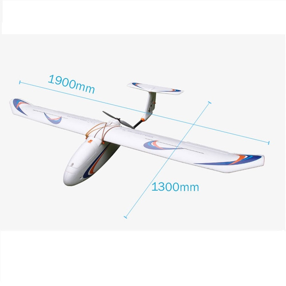Onsale Skywalker 1900 mm Wingspan carbon fiber Inverted T-tail Or T version Glider white FPV UAV Fixed Wing airplane RC Plane image