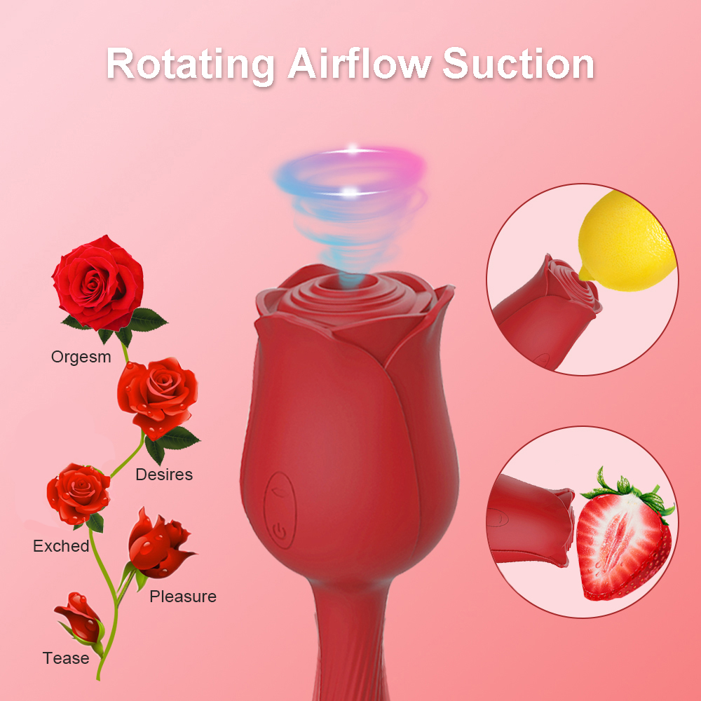 Rose Vibrator Clitor…