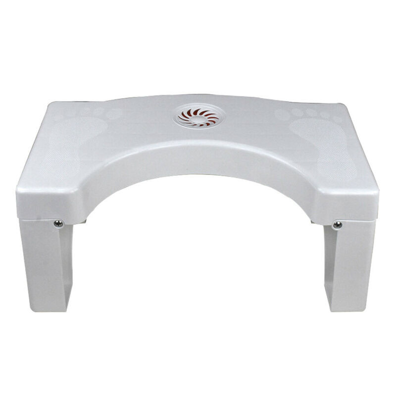 Folding Multi Function Toilet Stool Bathroom Potty Squat Proper Toilet Stool White 2019 New in Bathroom Chairs Stools from Furniture