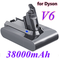 Dyson dc62 батарея 38000mAh 21,6 V литий-ионная батарея для Dyson V6 DC58 DC59 DC61 DC62 DC74 SV07 SV03 SV09 батарея пылесоса