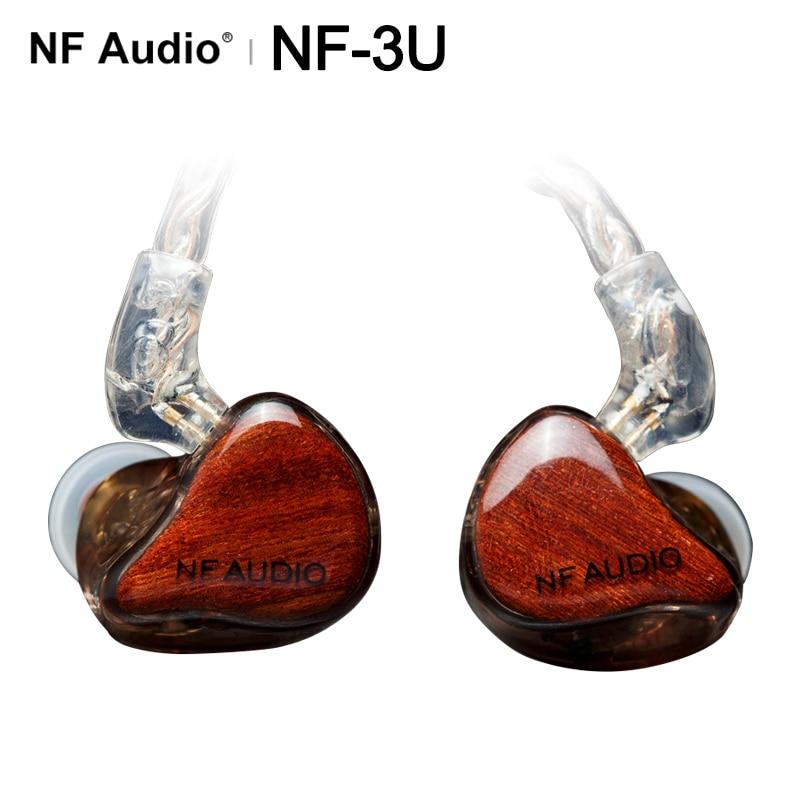 NF Audio NF-3U NF3U 3BA Knowles Armatures HIFI In-ear Earphone High End Handcrafted IEMs 2pin/0.78mm HIDIZS
