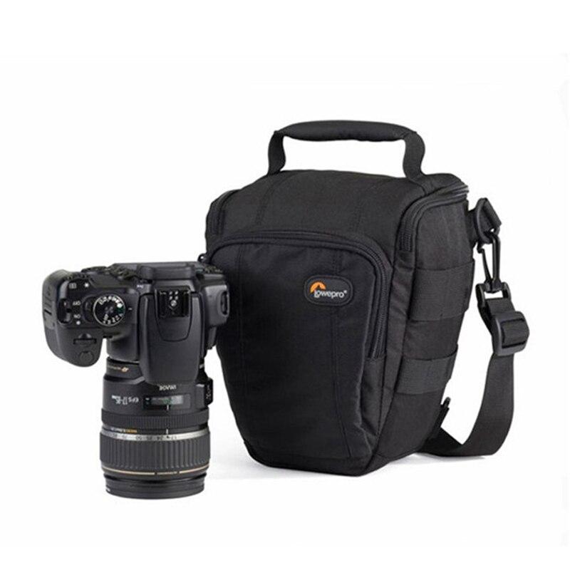 Быстрая доставка Lowepro Toploader Zoom 50 AW Высококачественная цифровая зеркальная камера сумка на плечо с водонепроницаемым чехлом-in Сумки для фото-/видеокамеры from Бытовая электроника