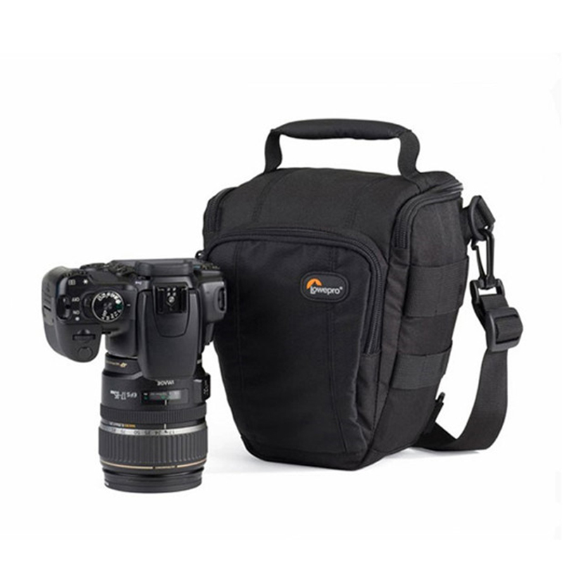 fast shipping  Lowepro Toploader Zoom 50 AW High quality Digital SLR camera Shoulder bag With waterproof cover-in Camera/Video Bags from Consumer Electronics