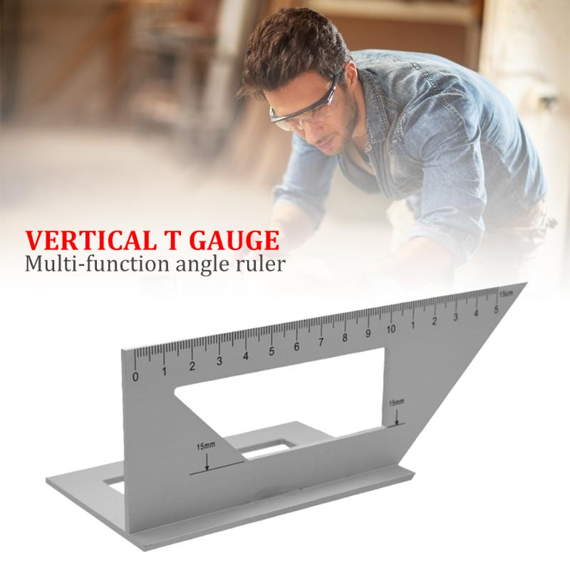 45/90 Right Angle Ruler Save Time And Energy For Convenience Aluminum Alloy Engineers Combination Square Angle Ruler