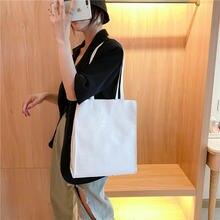 Женская модная белая сумка через плечо в Корейском стиле дизайнерская