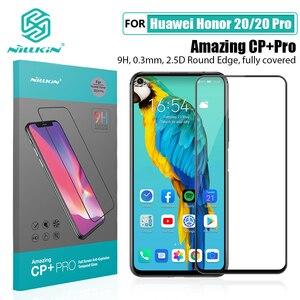 Image 1 - Für Huawei Honor 20 Glas Screen Protector NILLKIN Erstaunlich H/H + PRO 9H für Gehärtetem Glas Schutz für huawei honor 20 pro 6,26