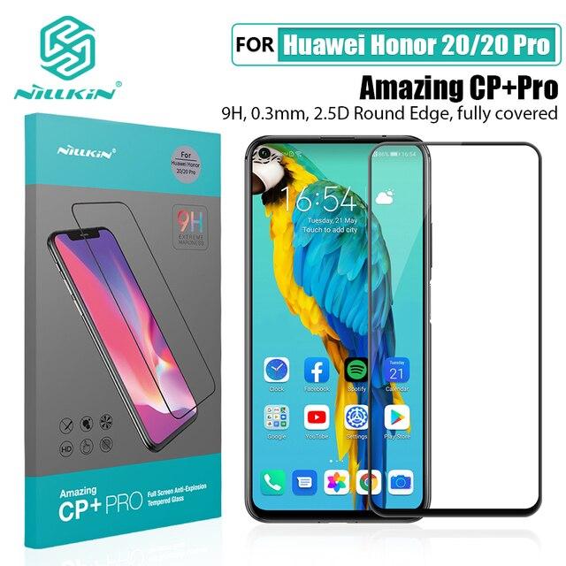 Für Huawei Honor 20 Glas Screen Protector NILLKIN Erstaunlich H/H + PRO 9H für Gehärtetem Glas Schutz für huawei honor 20 pro 6,26