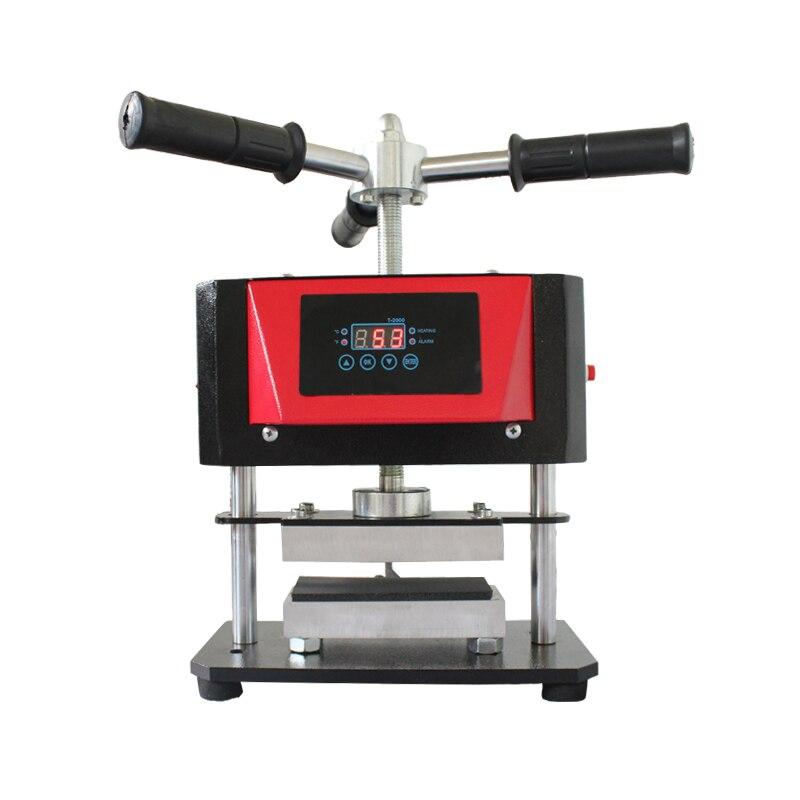Hot Sale New Arrival 6cm X 12cm Twist Manual Rosin Heat Press Dual Heat Plate Oil Extraction Heat Press Transfer Machine AP1907
