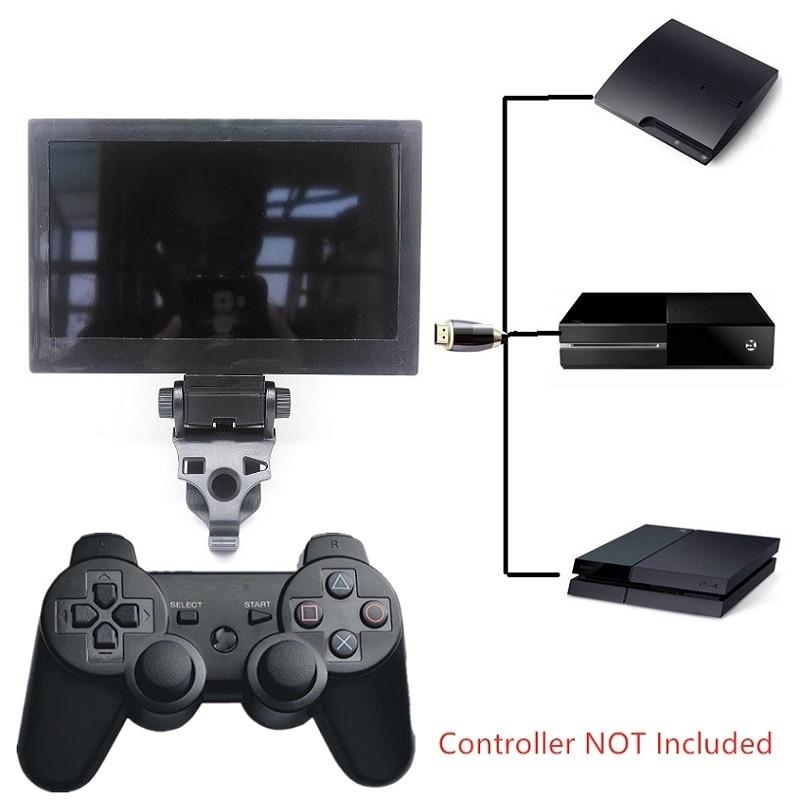 7 дюймов Портативный ручной мини-монитор джойстик ТВ геймпад ТВ 1080P для ТВ игровых консолей для PS3 для PS4 для Xbox one