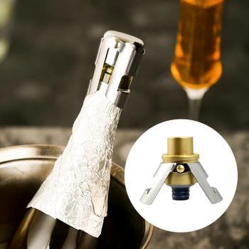 Butelka ze stali nierdzewnej otwieracz do butelek do czerwonego wina aluminiowym nożem czerwonego wina otwieracze do butelek otwieracz do słoików akcesoria kuchenne gadżety otwieracz do butelek otwieracz do butelek tanie i dobre opinie Aihogard CN (pochodzenie) Drewna Ekologiczne Na stanie Bottle Opener stopper CE UE wine bottle stopper champagne stopper