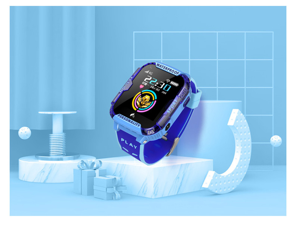 4G Montre intelligente Tracker GPS