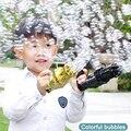 Kids Automatic Gatling Bubble Gun Toys Summer Soap Water Bubble Machine Electric Bubble Machine For Children Gift Toys Free Ship