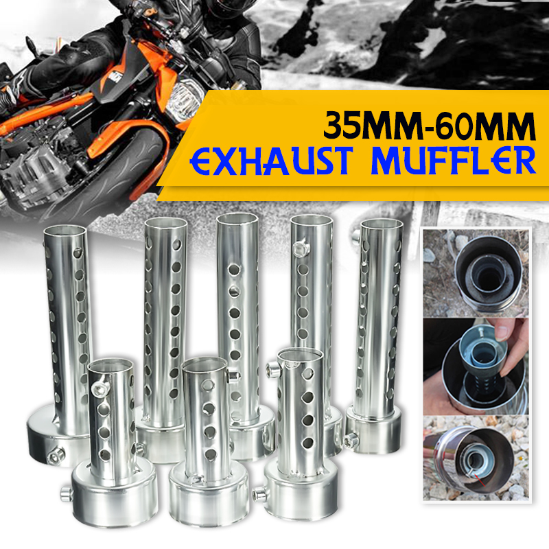 Muffler Silencer Db Killer Motorcycle Can Noise-Sound-Eliminator-Exhaust Adjustable 48mm/60mm