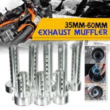 Мотоцикл может дБ убийца глушитель Шум звук Eliminator выхлоп Регулируемый глушитель 35 мм/42 мм/45 мм/48 мм/60 мм
