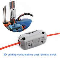 1,75/3,0mm Filament Filter Reiniger Blöcke Schwer Entflammbar Gummi Schaum für PLA ABS PETG SP99