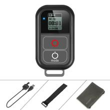 цена на DishyKooker GoPro WiFi Remote Control with Charger Cable Wrist Strap Waterproof Remoter for GoPro Hero 7 6 5 4 Session Accessory