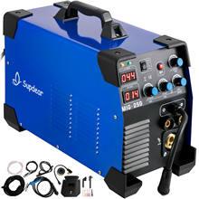 Soudeur à Arc 3 en 1 MIG 250 Amp, Machine à souder 220V/110V, levage TIG, bâton MMA IGBT, onduleur cc double tension