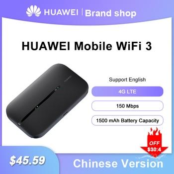 2020 Newest Huawei 4G Router Mobile WIFI 3 E5576-855 Unlock Huawei 4G LTE packet access mobile hotspot wireless modem E5576-320 1