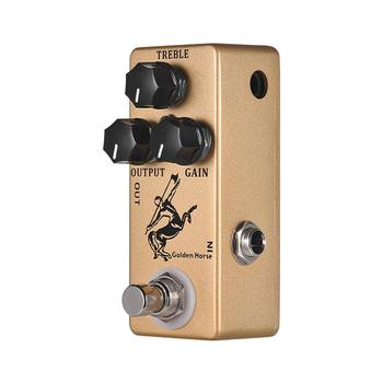 Mosky GOLDEn Horse Guitar Effect Pedal Overdrive Guitar Pedal True Bypass Guitar Parts & Accessories mosky mp 51 spring reverb mini single guitar effect pedal true bypass guitar parts