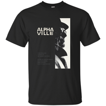 Alphaville, Jean-Luke Godard, Cinephile, Arthouse, French New Wave, T-Shirt Cool Casual pride...