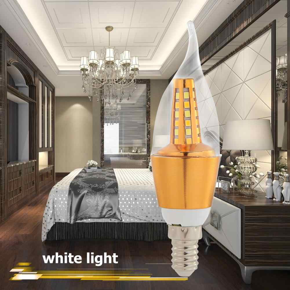 E14 LED Lamp 220V 5 7W 30LED Shadowless Corn Light Bulb Chandelier Home Lighting Uniform Illumination and No Shadow