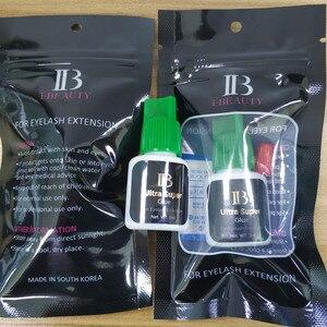 Image 5 - I beauty 1 botella/lote IB Ultra super pegamento Individual de secado rápido, pegamento de extensiones de pestañas, tapa verde, 5ml/botella, Envío Gratis