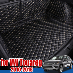 Car Boot Tray Floor Protector for Volkswagen VW Touareg 2010 2011 2012 2013 2014 2015 2016 2017 2018 Cargo Liner Boot Trunk Mat