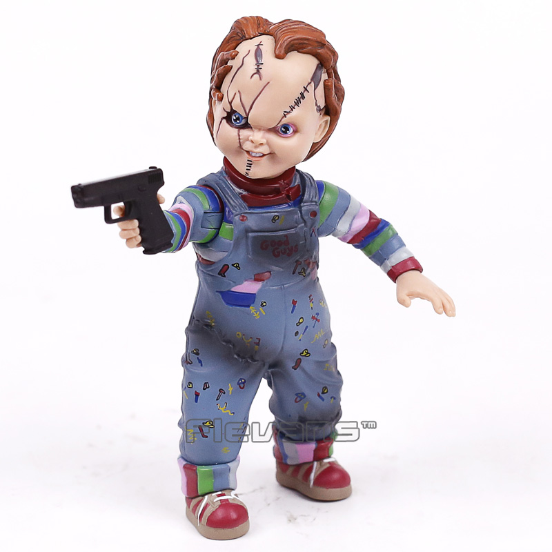 Child's Play Chucky Horror Movie Doll PVC Action Figure Collectible Model Toy
