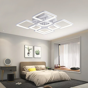 Image 3 - ใหม่Ledสำหรับห้องนั่งเล่นห้องนอนKitchernบ้านโคมระย้าโคมไฟเพดานLedโมเดิร์นโคมระย้าโคมไฟระย้า