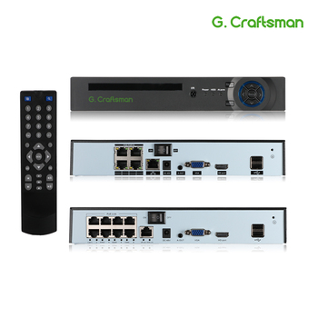 XMeye 4ch 8ch 5MP POE NVR Face Recognition H.265+ Onvif Network Video Recorder 1 HDD 24/7 Recording IP Camera Onvif P2P System
