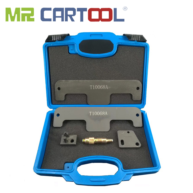MR CARTOOL T10068A Engine Timing Camshaft Alignment Tools Set For AUDI VW W8 W12 Touareg Porshce 3.6 Phaeton 6.0